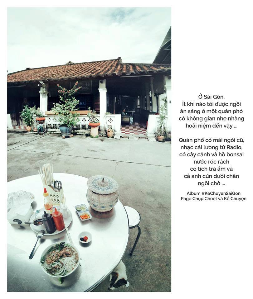 Hình ảnh của quán được chia sẻ trên một fanpage