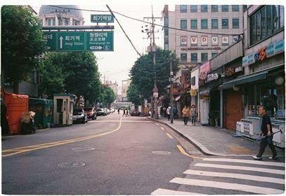 Đường phố vắng vẻ dịp Tết Trung thu.