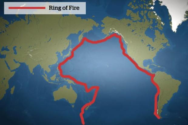 Indonesia nằm trên khu vực Vành đai lửa Thái Bình Dương. Ảnh: Youngzine