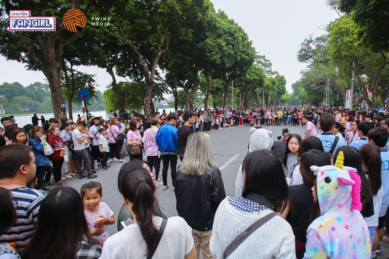 Rất đông các bạn fan K-Pop và khán giả tự do đã đến tham dự sự kiện.