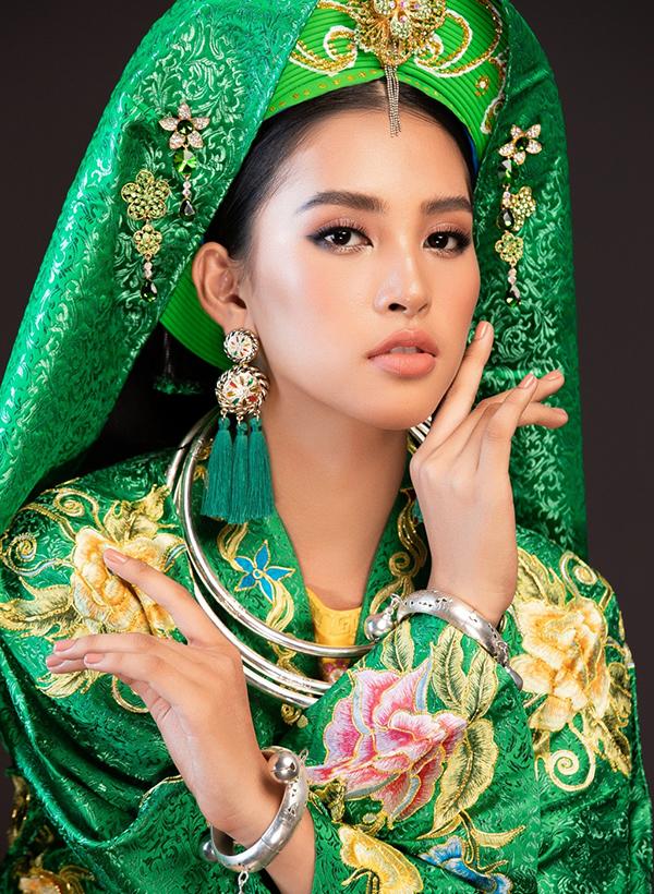 Hoa hậu Tiểu Vy mang điệu múa Chầu Văn trình diễn tại Miss World 2018 2