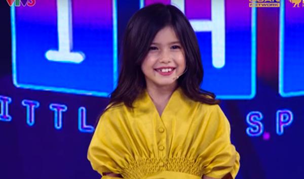 Tham gia 'Biệt tài tí hon' cô bé 8 tuổi gây sốt bởi vẻ đẹp lai Việt – Đức 0