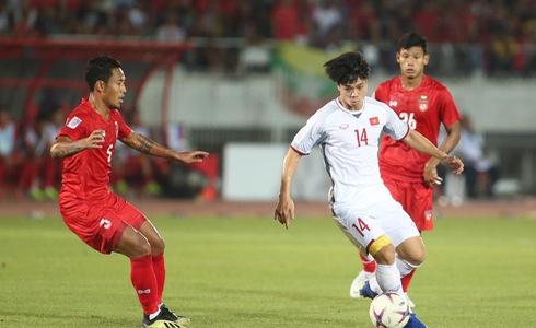 Việt Nam - Myanmar: Cả hai đội kết thúc trận đấu với tỷ số 0 - 0 1