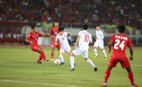 Việt Nam - Myanmar: Cả hai đội kết thúc trận đấu với tỷ số 0 - 0 2