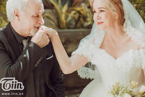 Cả hai kết hôn khi cô còn khá trẻ.