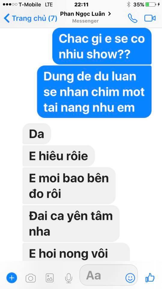 Loạt tin nhắn của Mr. Đàm và Phan Ngọc Luân hé lộ sự thật bất ngờ phía sau scandal tình ái giữa hai người 11