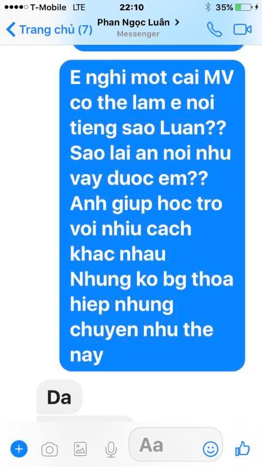 Loạt tin nhắn của Mr. Đàm và Phan Ngọc Luân hé lộ sự thật bất ngờ phía sau scandal tình ái giữa hai người 6
