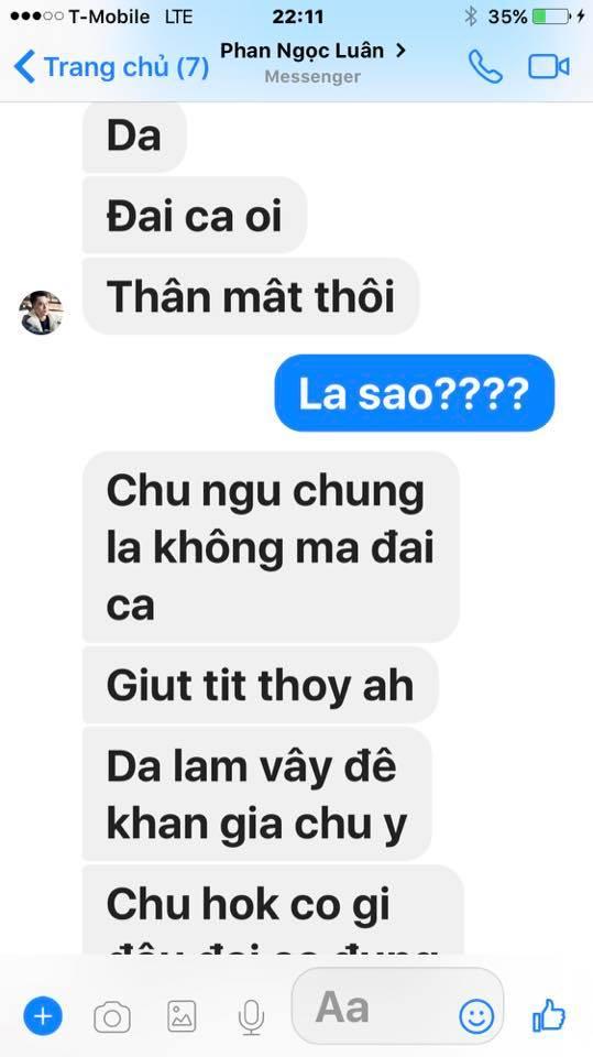 Loạt tin nhắn của Mr. Đàm và Phan Ngọc Luân hé lộ sự thật bất ngờ phía sau scandal tình ái giữa hai người 7