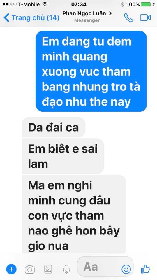 Loạt tin nhắn của Mr. Đàm và Phan Ngọc Luân hé lộ sự thật bất ngờ phía sau scandal tình ái giữa hai người 17