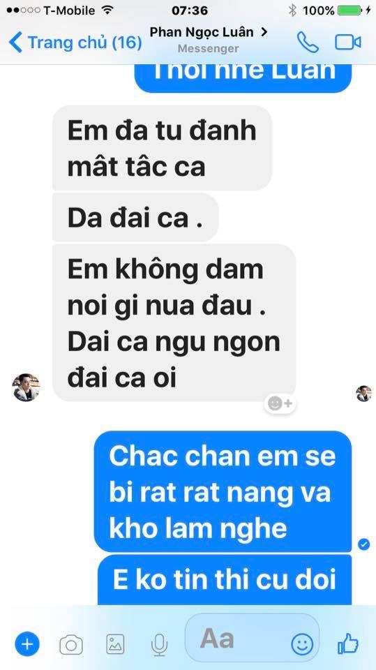 Loạt tin nhắn của Mr. Đàm và Phan Ngọc Luân hé lộ sự thật bất ngờ phía sau scandal tình ái giữa hai người 20