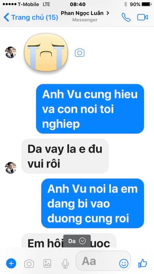 Loạt tin nhắn của Mr. Đàm và Phan Ngọc Luân hé lộ sự thật bất ngờ phía sau scandal tình ái giữa hai người 26