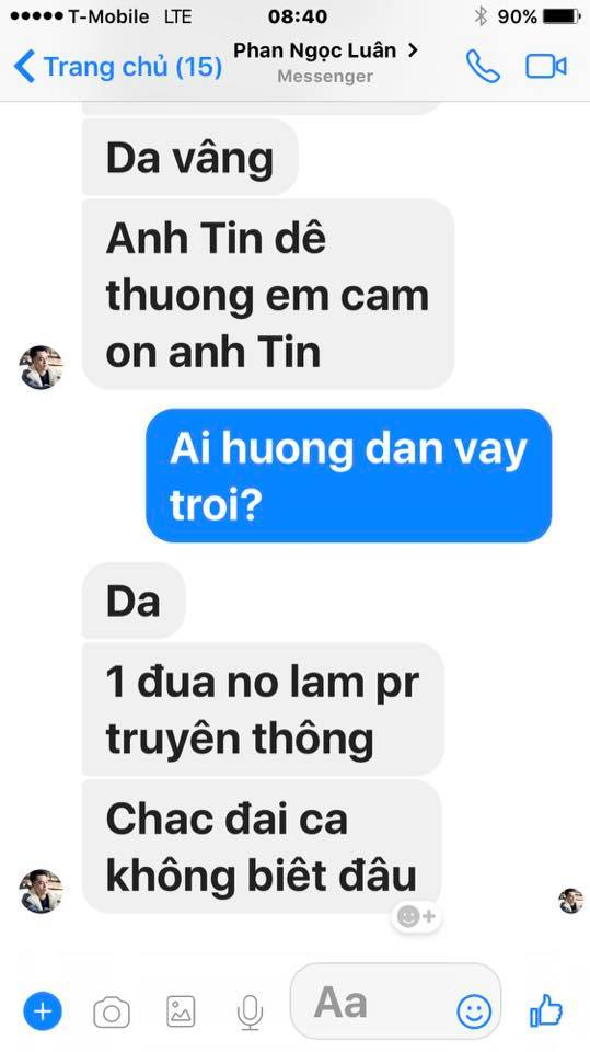 Loạt tin nhắn của Mr. Đàm và Phan Ngọc Luân hé lộ sự thật bất ngờ phía sau scandal tình ái giữa hai người 27