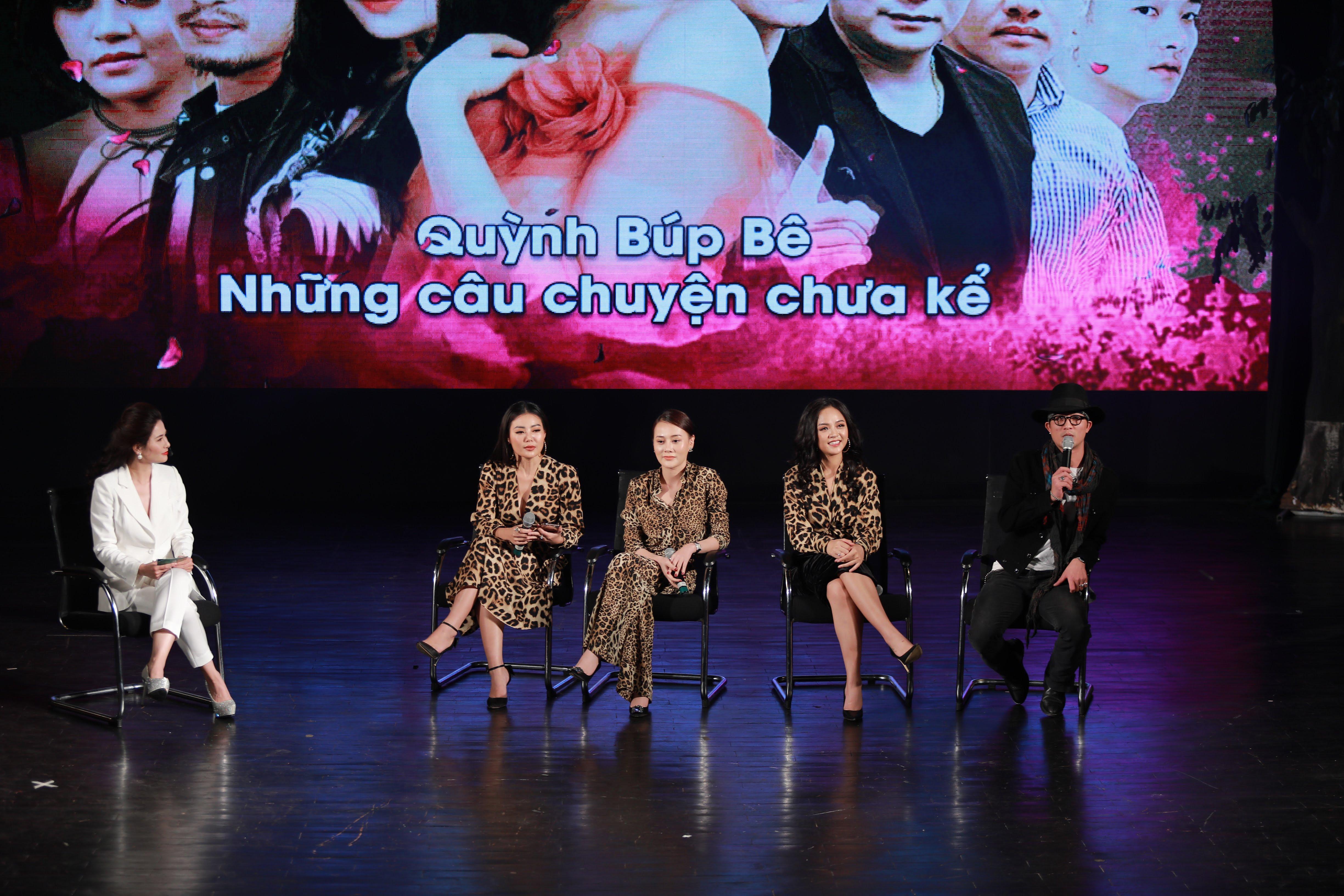 Bộ 4 diễn viên Quỳnh búp bê giao lưu với người hâm mộ