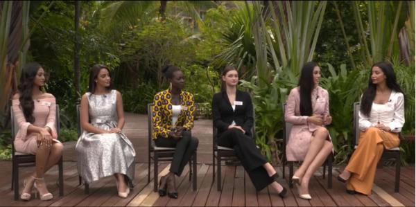 Hoa hậu Việt Nam 2018 tự tin trong vòng thi đầu của 'Head to Head Challenges'