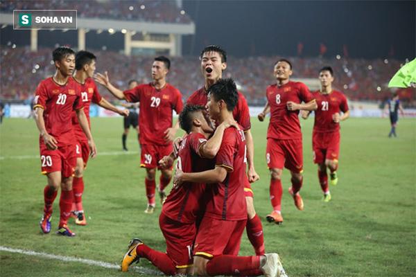 Các cầu thủ Việt Nam đã cống hiến một trận đấu đẹp mắt và mãn nhãn cho khán giả.
