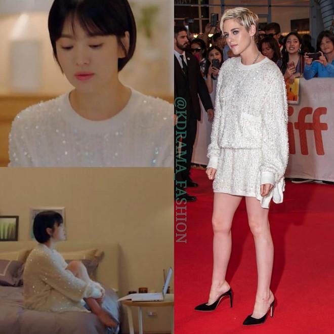 Đúng là con nhà tài phiệt, chỉ đi ngủ thôinữ giám đốc cũng diện chiếc đầm sequin lấp lánh nằm trongbộ sưu tập thu đông 2018 của Chanel
