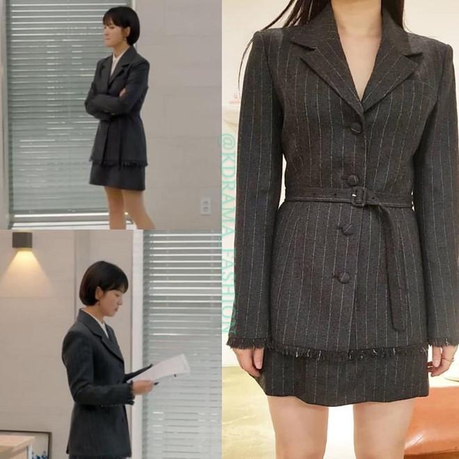 Lâu lâu nữ giám đốc xinh đẹp lại đổi phong cách menswear trongbộ sưu tập xuân hè 2019 của nhãn hiệuBride And You