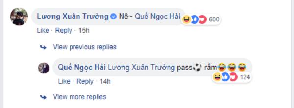 Phát hiện bất ngờ: Quế Ngọc Hải là fan cuồng chính hiệu của đàn em Xuân Trường 2