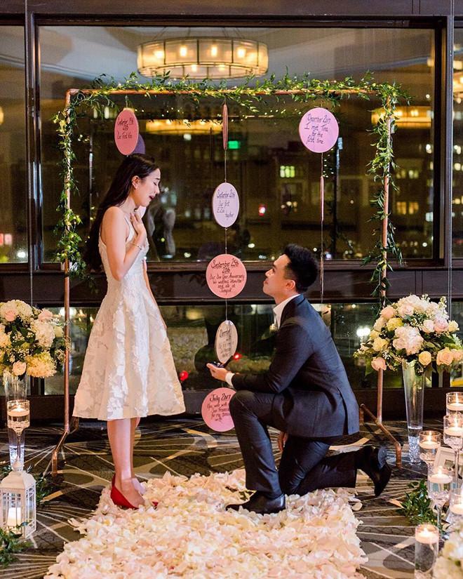 Mie Nguyễn bất ngờ được bạn trai cầu hôn.