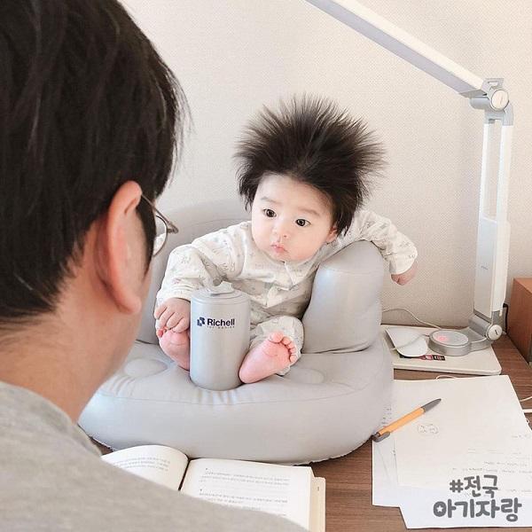Những em bé khuấy đảo cộng đồng mạng thế giới năm 2018 với mái tóc khác lạ 1