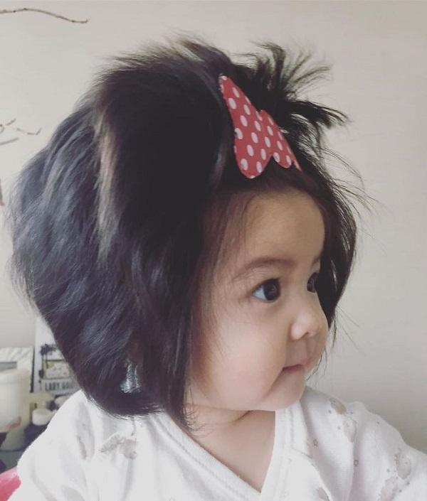 Những em bé khuấy đảo cộng đồng mạng thế giới năm 2018 với mái tóc khác lạ 4
