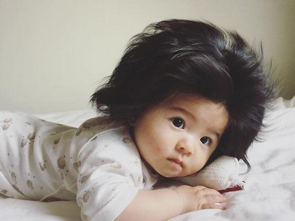 Chanco cũng khiến cư dân mạng mê mẩn với mái tóc đặc biệt