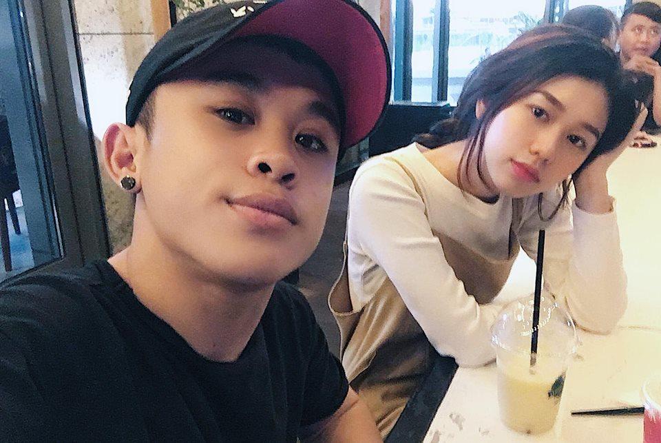 Trên trang cá nhân của mình,Xuân Tiếnkhông ngần ngại đăng ảnh bạn gái mới
