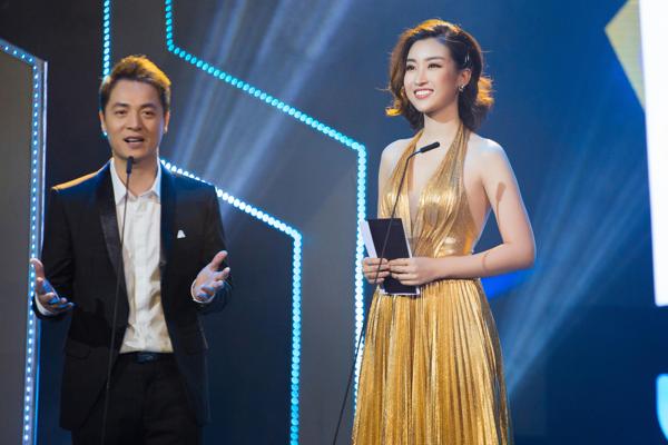 Mỹ Linh khoe trọn lưng trần, vai thon trên thảm đỏ Keeng Young Awards 2018 4
