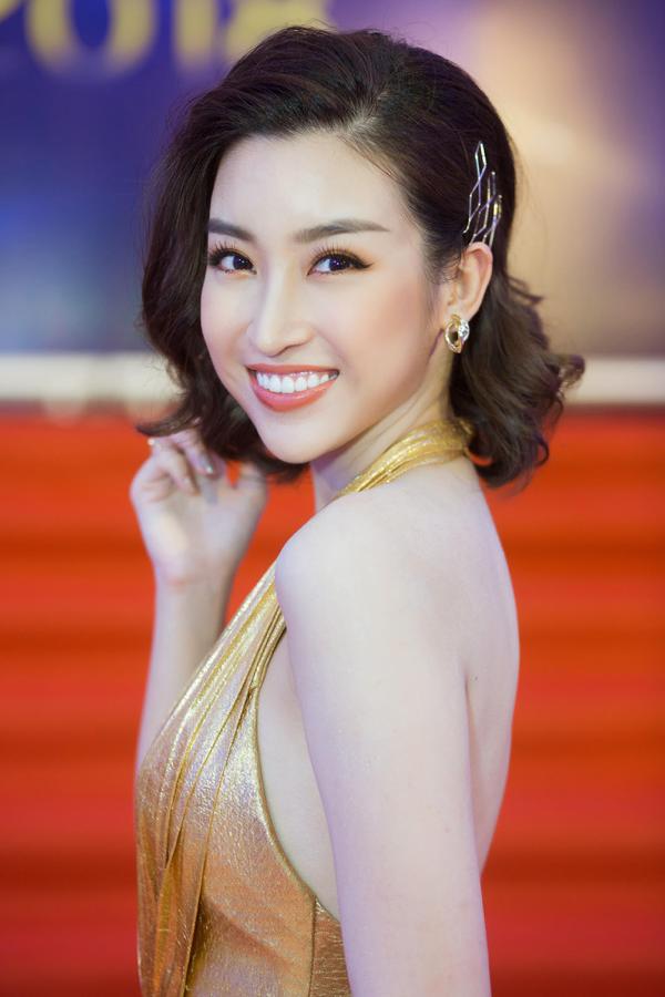 Nhan sắc tựa nữ thần của Đỗ Mỹ Linh trên thảm đỏKeeng Young Awards 2018