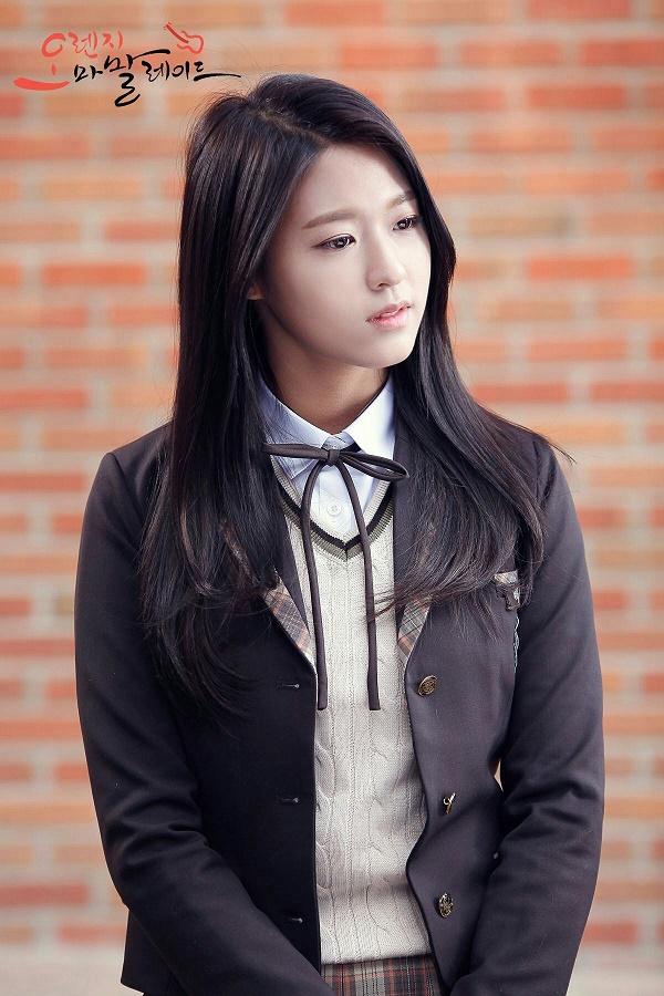 Tạo hình của Seolhyun trong phimOrange Marmalade