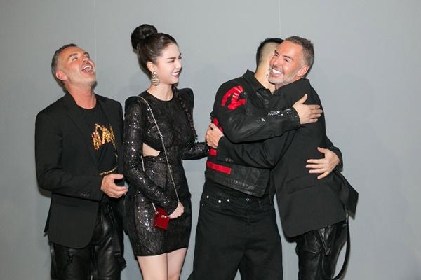 Ngọc Trinh sexy dự Milan Fashion Week, gặp gỡ bộ đôi NTK lừng danh nước Ý 7