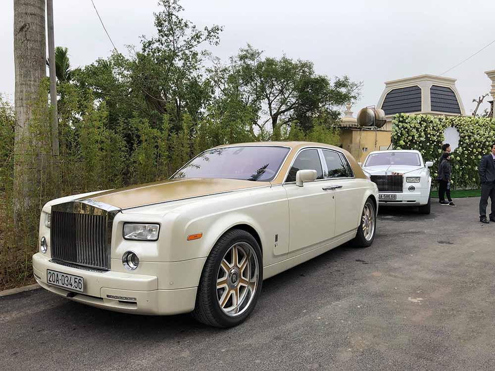 Siêu xe Rolls-Royce Phantom mang biển số đuôi 3456 với ý nghĩa 'bạn bè nể sợ'