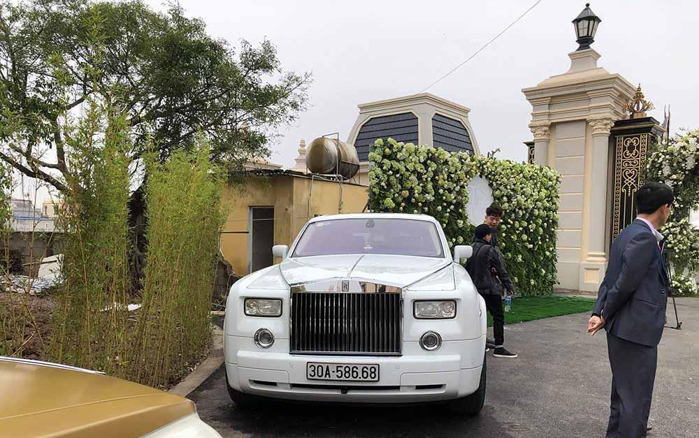 Siêu xe Rolls-Royce Phantom mang biển số 8668 với ý nghĩaphát lộc lộc phát