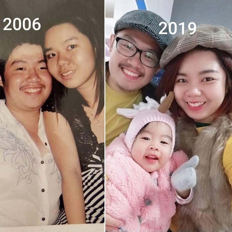 Hơn một thập kỉ cho một tình yêu đẹp. Ảnh FB Hồ Nhã.