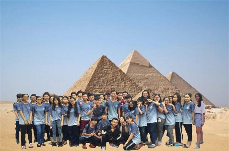 Không chỉ được du lịch các địa điểm trong nước, du lịch nước ngoài cũng chẳng có gì khó khăn cả