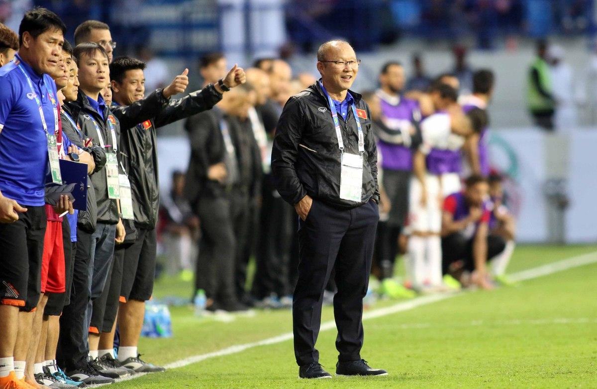 Thầy Park lại được mát mặt với các học trò