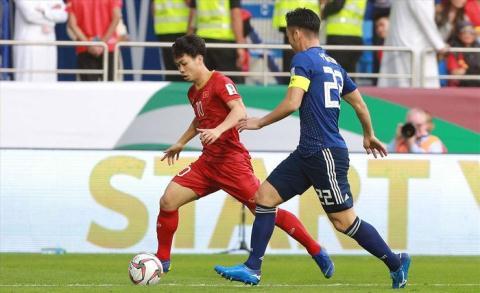 Công Phượng có một trận đấu ấn tượng trước Nhật Bản