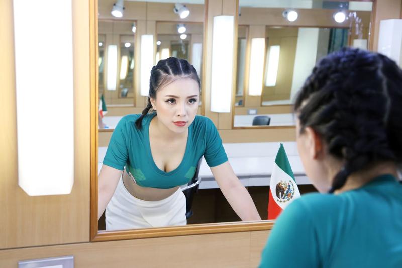 Liên Tít -nữ CĐV Mexico xinh đẹp trong Nóng cùng World Cup 2018