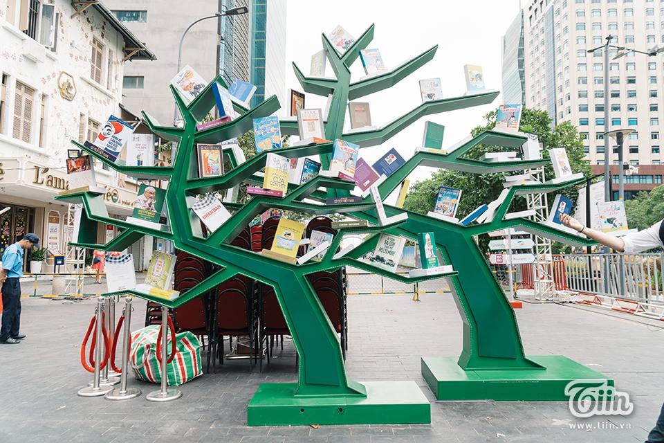 Không gian xanh tươi dành riêng cho những người yêu sách.