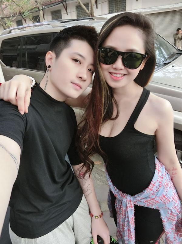 Hậu chia tay, MC Ngọc Trang tuyên bố tìm đàn ông 'chuẩn men', Lin Jay không định phẫu thuật chuyển giới 1