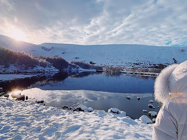 'Tình cũ không rủ cũng tới', Bảo Anh và Hồ Quang Hiếu lại đi du lịch Iceland cùng nhau? 0