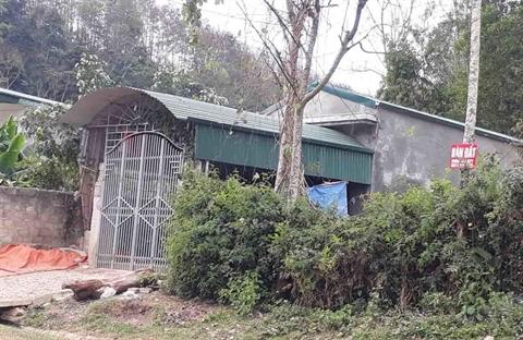 Ngôi nhà nơi Trần Văn Công cư ngụ.