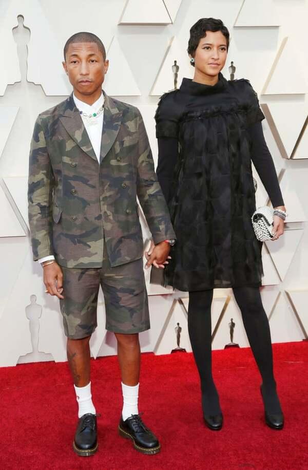 Pharell Williams và vợ