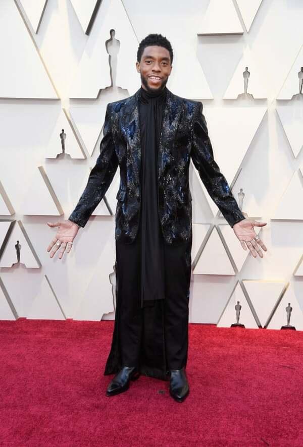 Chadwick Boseman của Black Panther