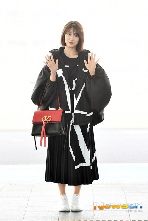 Phong cách mới mẻ củaPark Shin Hye.