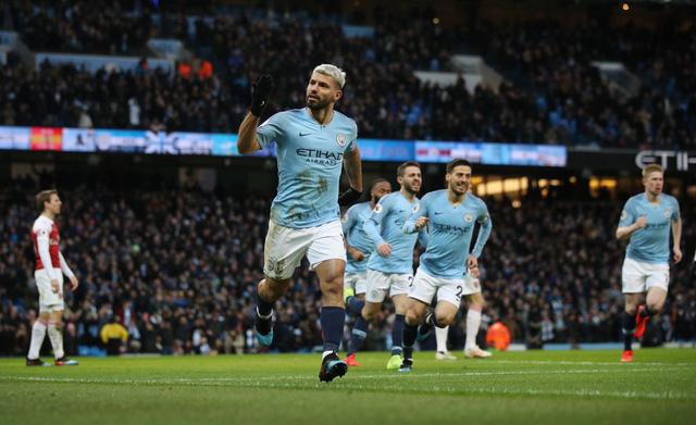 3. Sergio Aguero (Man City): 177 bàn trong 262 lần ra sân cho đội chủ sân Etihad