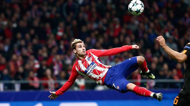 5. Antoine Griezmann (Atletico Madrid): 18 bàn trên mọi mặt trận ở mùa giải năm nay