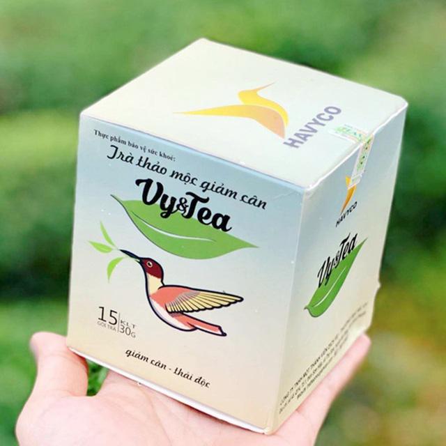 Sản phẩm trà thảo mộc nhãn hiệu Vy&Tea bị phát hiện có chất cấm khi xuất khẩu sang Hàn Quốc