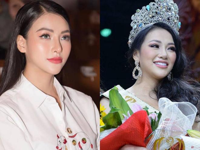 Có thể thấy, mũi của Phương Khánh hiện tại đã thon gọn, cao và dài hơn so với khi đăng quang Hoa hậu Trái Đất.