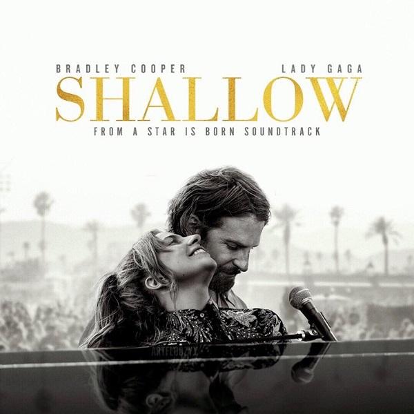 Shallow là bản hit No.1 thứ 4 trong sự nghiệp của Lady Gaga.